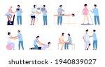 medical rehabilitation. flat...   Shutterstock .eps vector #1940839027