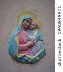 Beautiful Religious Plaque In...