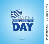 flag day in greece....   Shutterstock .eps vector #1940917741