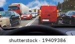 being inside passenger car... | Shutterstock . vector #19409386