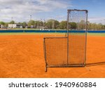 Practice Pitcher's Shield On A ...