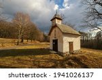 Old Abandoned Small Chapel In...