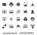 vector set of image flat icons. ... | Shutterstock .eps vector #1941078991
