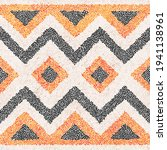 seamless embroidery pattern in... | Shutterstock .eps vector #1941138961