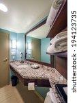 interior design of a spacious... | Shutterstock . vector #194123735
