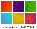 set of six colorful turing...