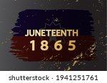 Juneteenth Flag 1865 Poster ...