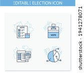 election line icons set....   Shutterstock .eps vector #1941278071