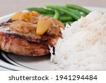 A Mouthwatering Pork Steak With ...