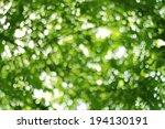 natural green blurred... | Shutterstock . vector #194130191
