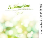 abstract background with summer ... | Shutterstock .eps vector #194132639
