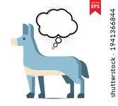 cute cartoon donkey with...