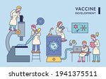doctors doing research with...   Shutterstock .eps vector #1941375511