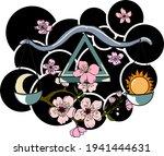 zodiac signs set of horoscope... | Shutterstock .eps vector #1941444631