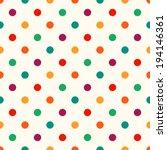 Seamless Circles Dots Pattern