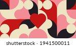 romantic vector abstract ... | Shutterstock .eps vector #1941500011
