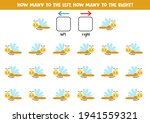 left or right with cute...   Shutterstock .eps vector #1941559321
