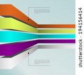 business infographics graph...   Shutterstock .eps vector #194156414