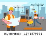 engineering and construction... | Shutterstock .eps vector #1941579991