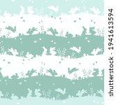 lovely hand drawn easter...   Shutterstock .eps vector #1941613594
