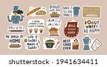 collection of funny... | Shutterstock .eps vector #1941634411