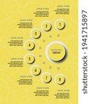 eight steps vertical... | Shutterstock .eps vector #1941715897
