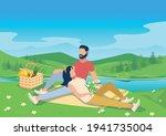 vector illustration of a happy... | Shutterstock .eps vector #1941735004