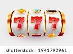 golden slot machine wins the... | Shutterstock .eps vector #1941792961