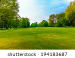 green landscape | Shutterstock . vector #194183687