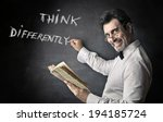 think differently | Shutterstock . vector #194185724