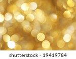 Golden light background - stock photo