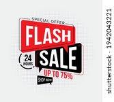 flash sale discount special... | Shutterstock .eps vector #1942043221