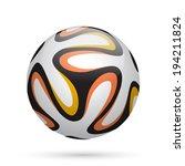 Soccer   Football Ball With...