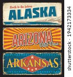 american states alaska  arizona ...   Shutterstock .eps vector #1942173334