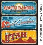 Usa Utah  Carolina And South...