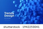 abstract geometric background...   Shutterstock .eps vector #1942253041