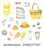 Watercolor Women's Summer Items ...