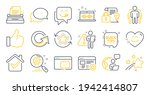 set of technology icons  such... | Shutterstock .eps vector #1942414807