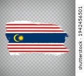 flag of kuala lumpur brush...