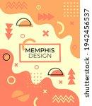 memphis style of geometric...   Shutterstock .eps vector #1942456537