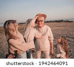 Elderly Smiling Woman With Her...