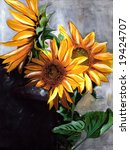 Sunflower  Painting  My Creation