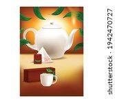 ceylon tea creative advertising ... | Shutterstock .eps vector #1942470727