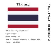 thailand national flag  country'...   Shutterstock .eps vector #1942577467