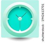 clock symbol. flat isometric...