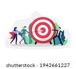 business goals achievement.... | Shutterstock .eps vector #1942661227