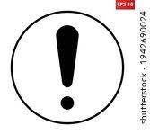 general mandatory action sign.... | Shutterstock .eps vector #1942690024