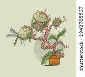 Carnivorous Plant Eating...