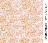 artistic pink  elegant floral... | Shutterstock .eps vector #1942720114