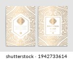 gold and white luxury... | Shutterstock .eps vector #1942733614